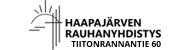 Haapajärven Rauhanyhdistys ry Logo