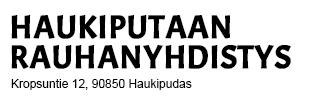 Haukiputaan Rauhanyhdistys Logo