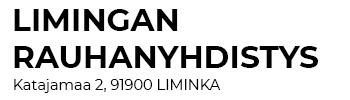 Limingan Rauhanyhdistys Logo
