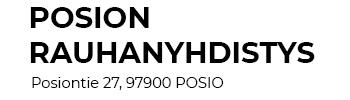 Posion Rauhanyhdistys ry Logo