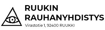 Ruukin Rauhanyhdistys ry Logo