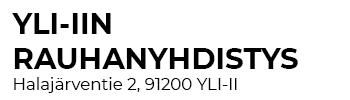 Yli-Iin Rauhanyhdistys ry Logo